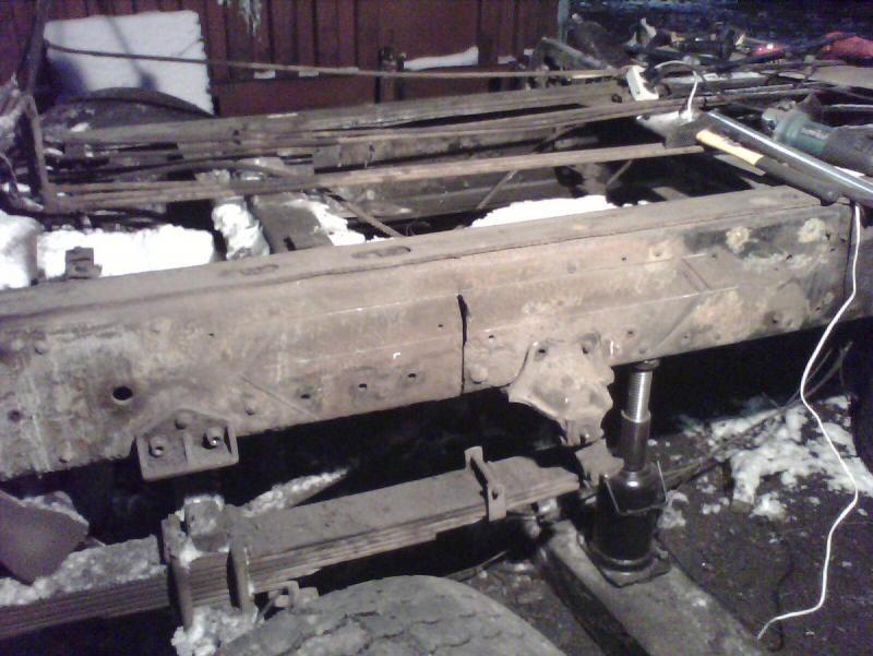 Ремонт рам грузовых автомобилей в новосибирске