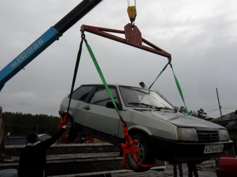 Траверса для подъема автомобиля своими руками