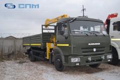 Кму Soosan SCS334 на шасси КАМАЗ