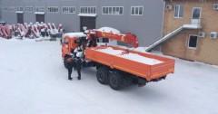Краноманипуляторная установка Palfinger IT150 на шасси КАМАЗ 43118 по цене 4587000 рублей