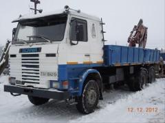 Старушка Scania и белорусская зима