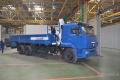 КАМАЗ 65117 с манипулятором Bonfiglioli P 15000