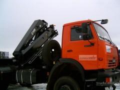 КАМАЗ 65111 с КМУ Hiab 288 Duo