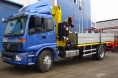 Foton Daimler BJ1163 + Hyva Crane HB150E2