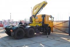 Камаз 65116 + HyvaCrane HB150E2