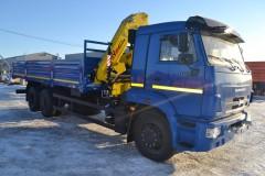 Камаз 65117 + HyvaCrane HB150E2
