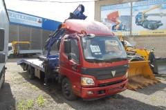 Эвакуатор Foton с КМУ модели PM12012LA