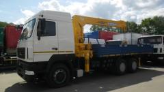 КМУ МАЗ 6312В9-429-012 с КМУ SOOSAN 746 L