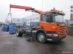 Scania P230 с манипулятором