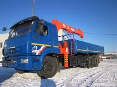 КАМАЗ 65117 с КМУ Kanglim