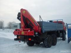 КАМАЗ 43118 с КМУ Palfinger