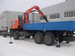 КАМАЗ 68905 с манипулятором