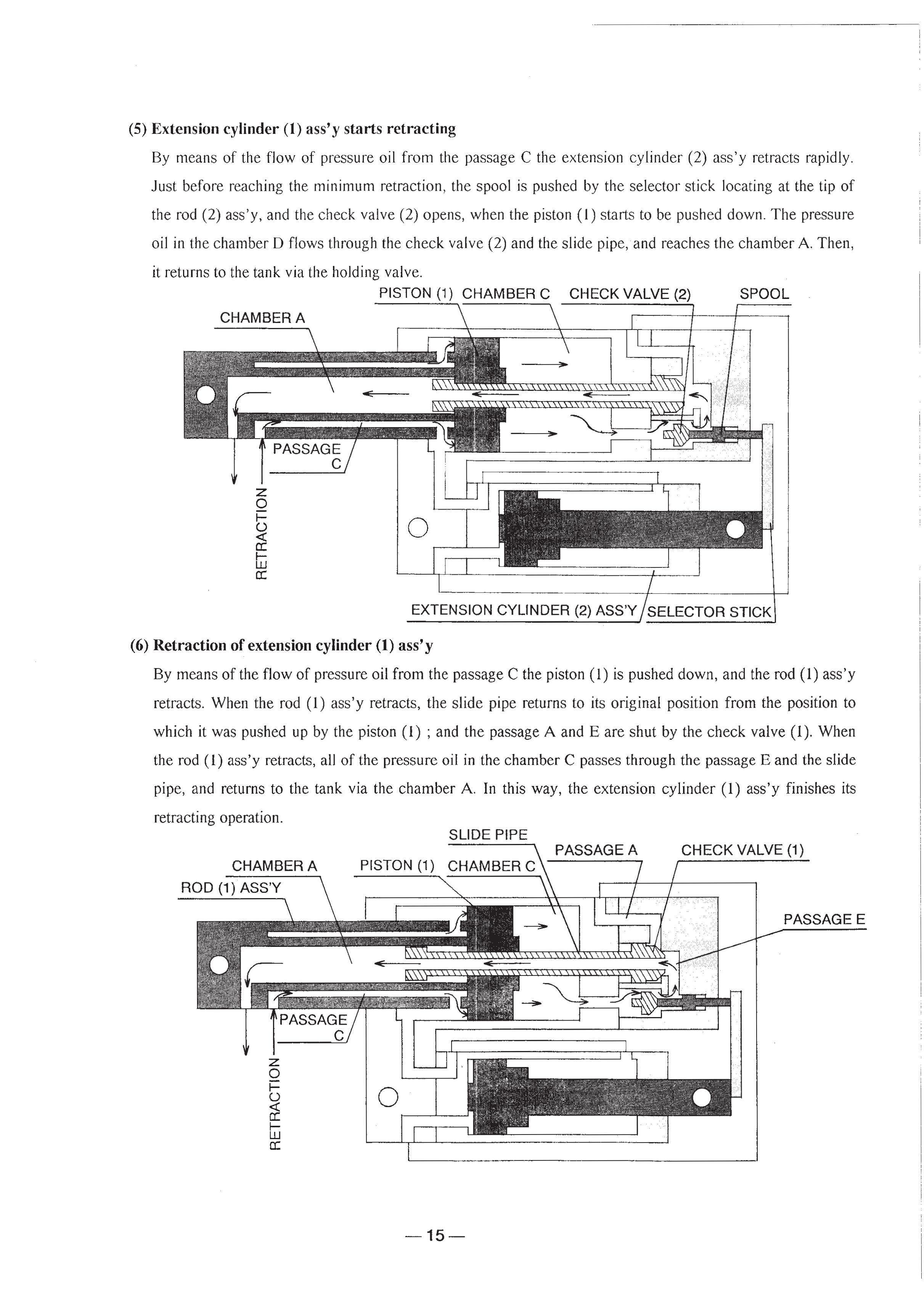 гидравлическая схема кму тадано
