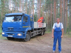 КАМАЗ-65117 с КМУ ПАЛФИНГЕР-15500