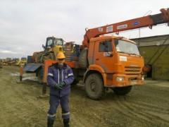 КАМАЗ-43118 с КМУ КАНГЛИМ-1256