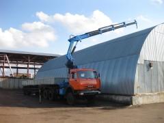 КАМАЗ 53228 (сед. тягач) с КМУ ИНМАН ИМ 240