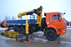 КАМАЗ 43118-3078-46+ SOOSAN SCS-876L