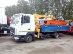 КМУ МАЗ 4371Р2-440-001 с КМУ SOOSAN 334 5.5 борт, сталь.