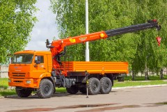 КАМАЗ 43118 с КМУ PALFINGER INMAN IT 150