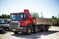 Scania с КМУ